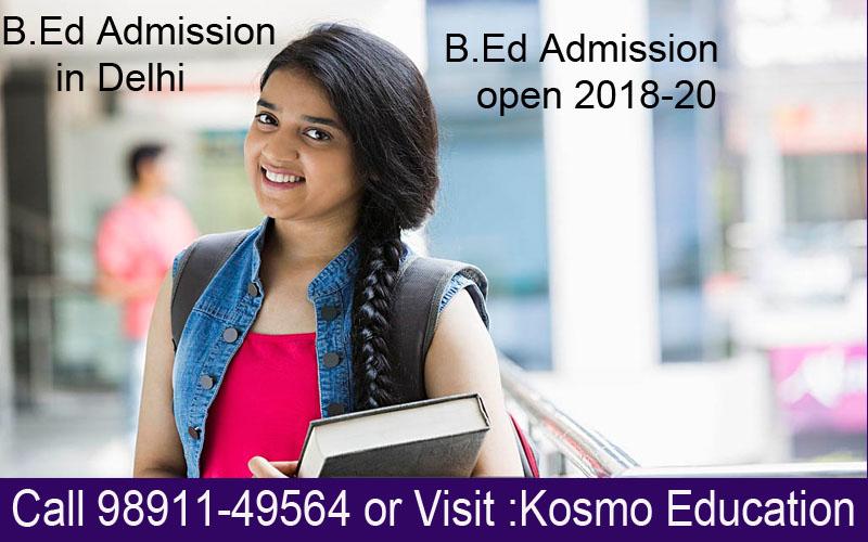 b.ed admission in delhi