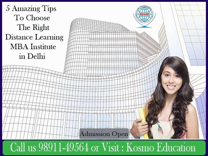Distance Learning MBA Institute in Delhi Dwarka