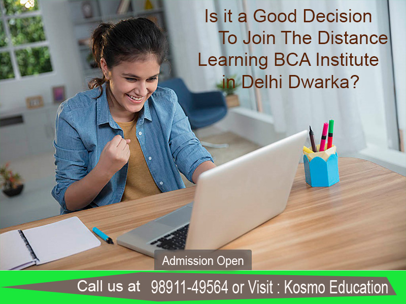 distance learning BCA institute