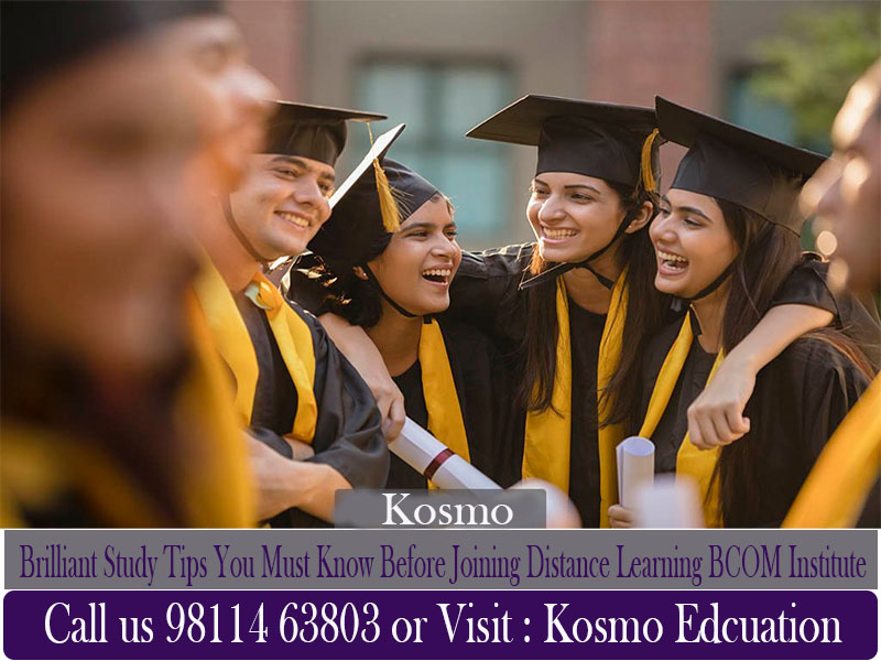 distance learning BCOM institute in Delhi