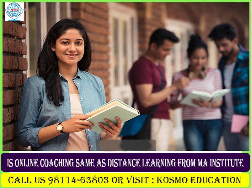 distance learning MA institute in Delhi