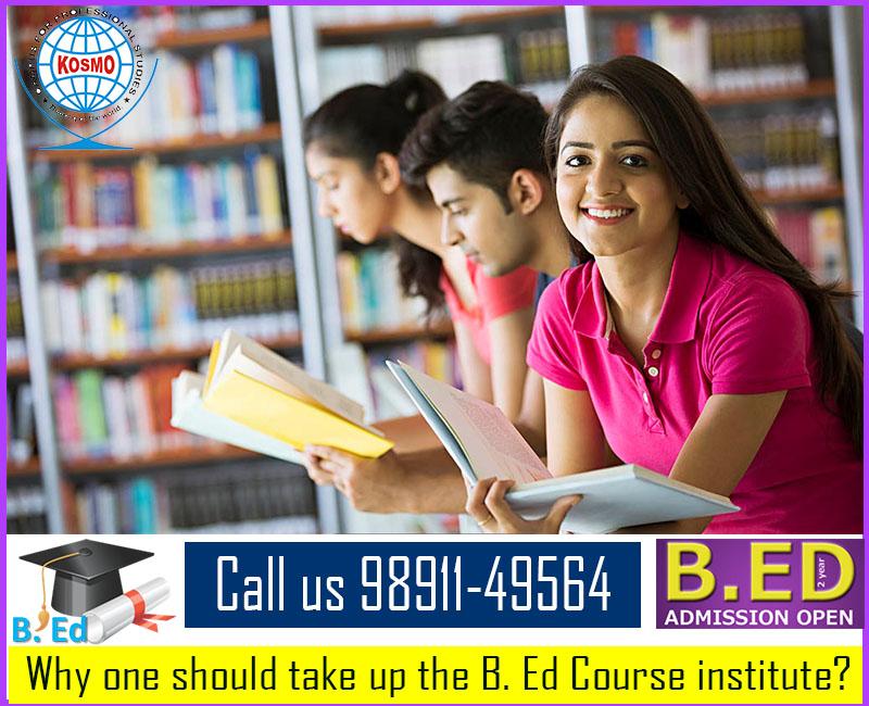 B. Ed courses institute in Delhi