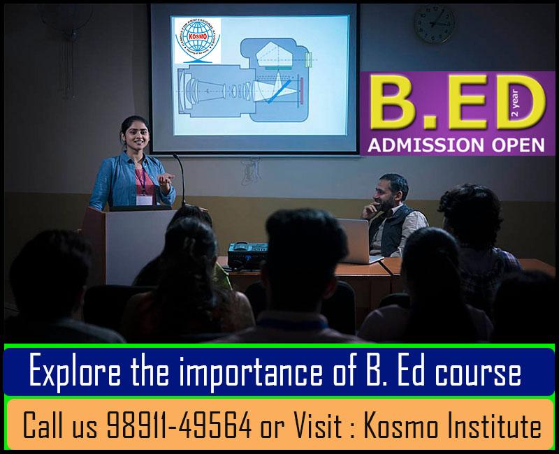 B.Ed admission courses in Delhi